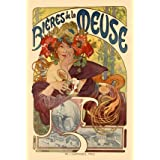 Poster of Bieres de la Meuse, by Alphonse Mucha (Print On Demand)