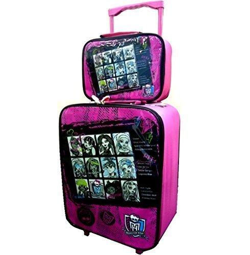 Disney Kinder Trolley Koffer Handgepäck mit dem Motiv Monster High