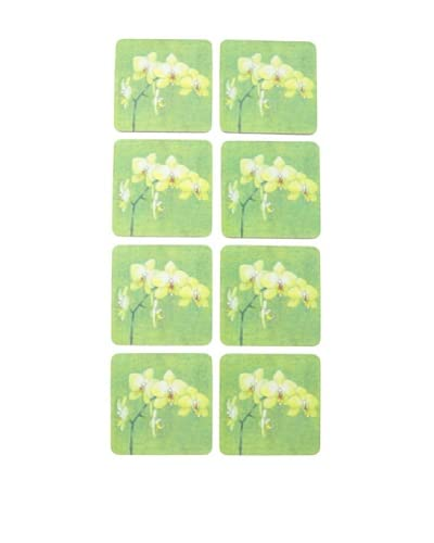 rockflowerpaper Set of 8 Orchid Coasters As You See