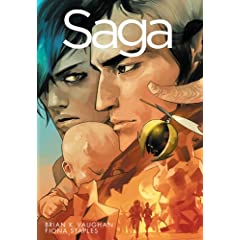 Saga, Vol. 1 by Brian K. Vaughan and Fiona Staples