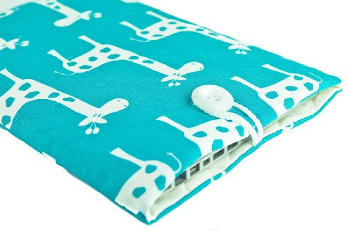 Buy  Kuzy - Aqua Blue Giraffe Sleeve Cover 15-Inch for MacBook Pro 15.4