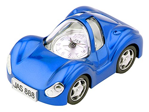 Blue Car Table Clock