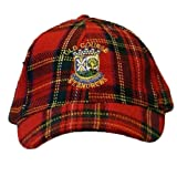 Old Course St Andrews Royal Stewart Golf Baseball Cap (One Size) (Red/Blue/Yellow/Green)