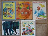 img - for Friends & Feelings: Set of 5 Picture Books (Do You Want to Be My Friend? ~ A Book of Friends ~ Leo the Late Bloomer ~ The Way I Feel ~ Never Talk to Strangers) book / textbook / text book