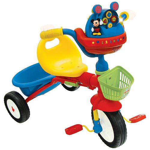 Amazon.com : Mickey Mouse Clubhouse Folding Tricycle : Childrens