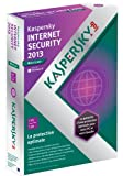 Kaspersky internet security 2013 - mise  jour (1 poste, 1 an)