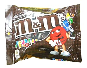 202 G. M & M's Milk Chocolate Chocolate Candies Candy 15 Individual Packets Product of Thailand