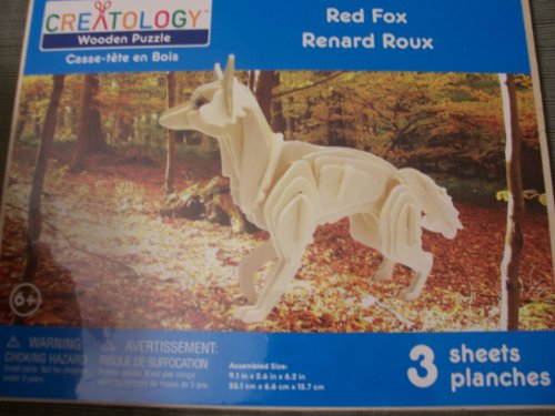 Cheap Michaels Creatology Wooden Puzzle  Red Fox (B0050W3MM6)