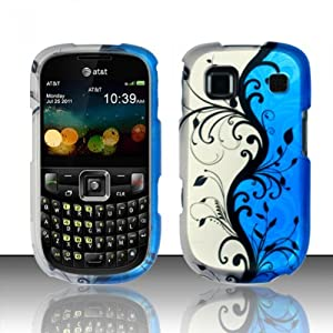 ZTE Z431 Case (AT&T) Majestic Vines Hard Cover Protector with Free Car Charger + Gift Box By Tech Accessories