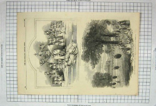 1855 Royal Thames Regatta Archery Sherridge Worcester