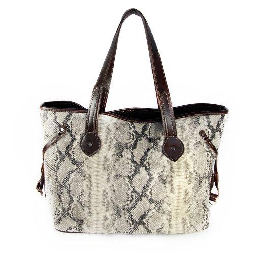 Mia Bossi Emma Diaper Bag, Snakeskin
