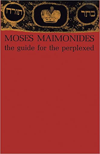 The Guide for the Perplexed written by Moses Maimonides