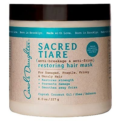 Carols Daughter Sacred Tiare Anti-Breakage and Anti-Frizz Restoring Hair Mask - 8.0 oz TRG