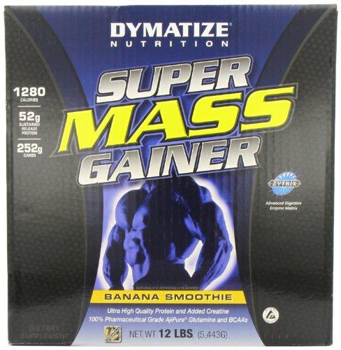 Dymatize Nutrition Super Mass Gainer Banana 6 Lbs