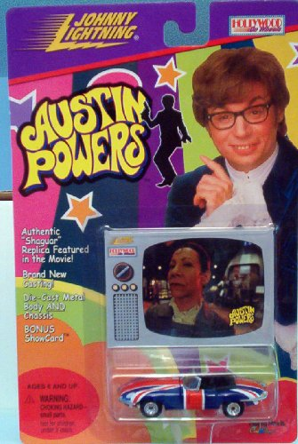 Austin Powers Shaguar Diecast 1:64