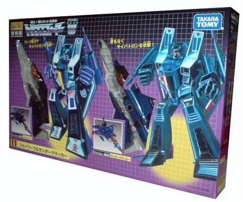 Takara Tomy Transformers Encore Thundercracker  &  Skywarp Set Of 2