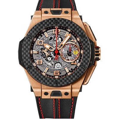 Hublot  Watches weekly special: Hublot Big Bang Ferrari King Gold Limited Edition Limited edition of 500 pieces – 401.OQ.0123.VR