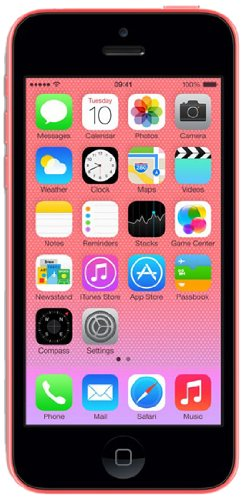 Apple iPhone 5c 16GB Pink SIM-Free Smartphone - Unlocked for All Networks