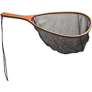 Frabill wood handle mesh netting fish landing for Amazon fishing net