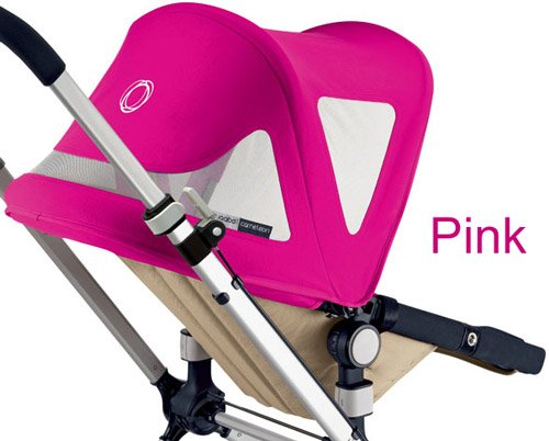 Bugaboo Cameleon Canvas Breezy Sun Canopy - Pink