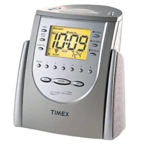 timex t309 triple alarm clock radio with chimes nature sounds precise digital. Black Bedroom Furniture Sets. Home Design Ideas