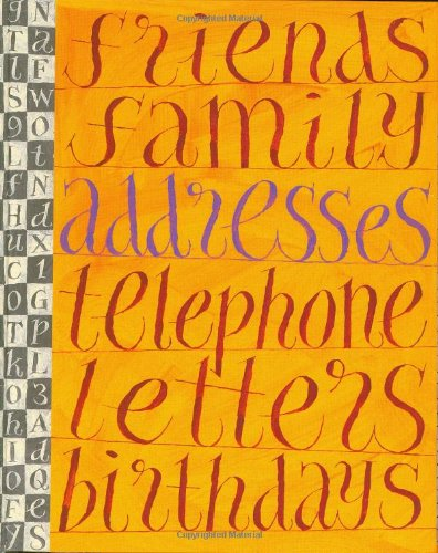 A Literary Address Book (Stay in Touch)