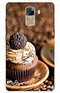 iessential cupcake Designer Printed Back Case Cover for Huawei Honor 7