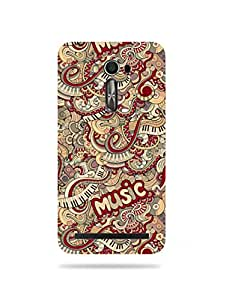 alDivo Premium Quality Printed Mobile Back Cover For Asus ZenFone 2 Laser ZE550 / Asus ZenFone 2 Laser ZE550 Printed Mobile Case / Back Cover (MZ237)
