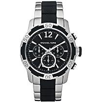 Michael Kors Chronograph Black Dial Mens Watch MK8199