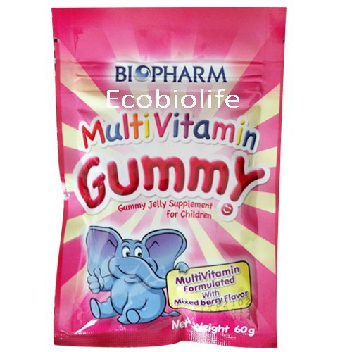 Biopharm Multi Vitamin Gummy Jelly Supplement For Children 60G. 1Pcs.
