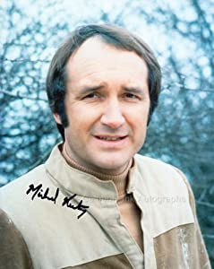 MICHAEL KEATING as Vila Restal - Blake's 7 GENUINE AUTOGRAPH