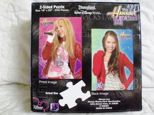 Disney Hannah Montana 200 Piece 2-Sided Puzzle