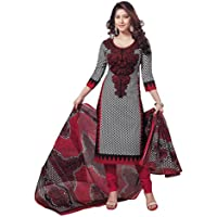 AngelFab Women's Cotton Unstitched Dress Material