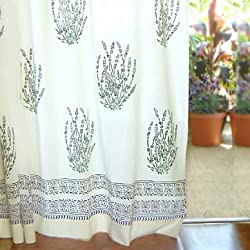 Cottage Curtains | Teal Curtain UK
