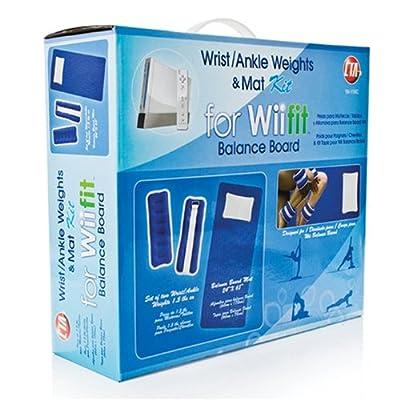 Wii Yogamatte, Knöchel-Gewichte & Handgelenk-Gewichte Set für Wii Fit