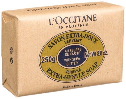 L'Occitane Savon Extra-Doux Verveine, (Verbena Soap, Extra Gentle), 8.8-Ounce Bar