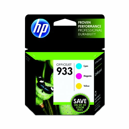 HP 933 Color Ink Cartridge Combo Pack Picture