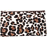 "11"" Zip Cosmetic Pouch Womens Teens Girls Travel School Gym Art Makeup Brush Bag"