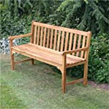 BillyOh Signature 3 Seater Wooden Garden Bench
