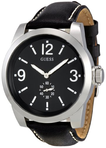 Guess Men's Analogue Watch W10248G1 with Black Dial