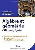 Algèbre et géométrie - CAPES externe de Mathématiques - Agrégation interne de mathématiques