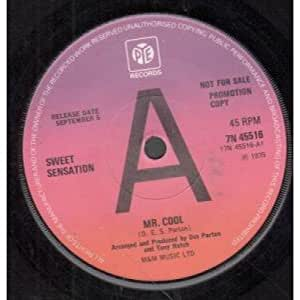 Sweet Sensation - Mr. Cool / Yes Miss, No Miss