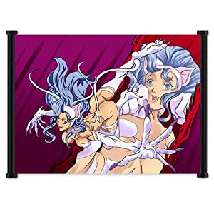 """Darkstalkers Felicia Anime Game Fabric Wall Scroll Poster (42""""x32"""") Inches"""