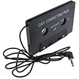 Everydaysource compatible with Samsung© Galaxy SIV/ S4 i9500 Black Car Audio Cassette Adapter