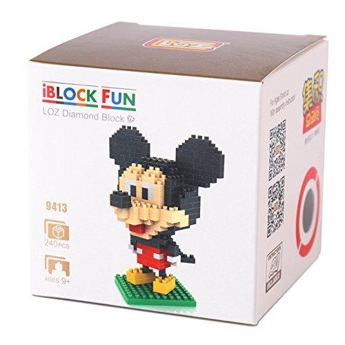 GoobandMickey and Minnie - LOZ Nanoblock Disney Mickey Collection Pack of 2