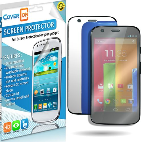 Coveron® Mirror Lcd Screen Protector Shield For Motorola Moto G