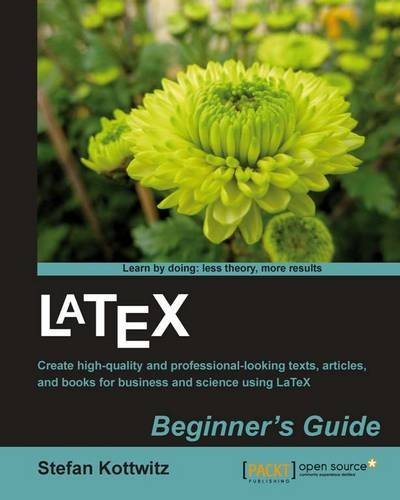 LaTeX Beginner's Guide