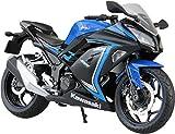 スカイネット 1/12 完成品バイク 2015 Kawasaki Ninja250SE ブルー