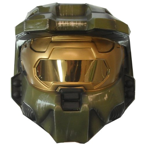 Rubies Costumes Men's Halo 3 Master Chief 2 piece Vacuform Mask Adult