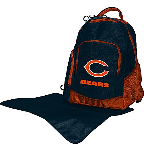 Lil Fan NFL Diaper Backpack Collection, Chicago Bears - 1